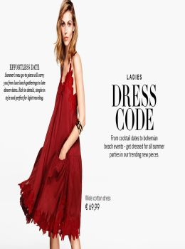 H&M katalog - Ženske obleke