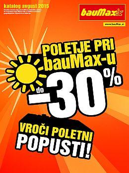 bauMax katalog - Poletje pri bauMax-u