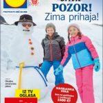 Lidl katalog - Pozor! Zima in popusti