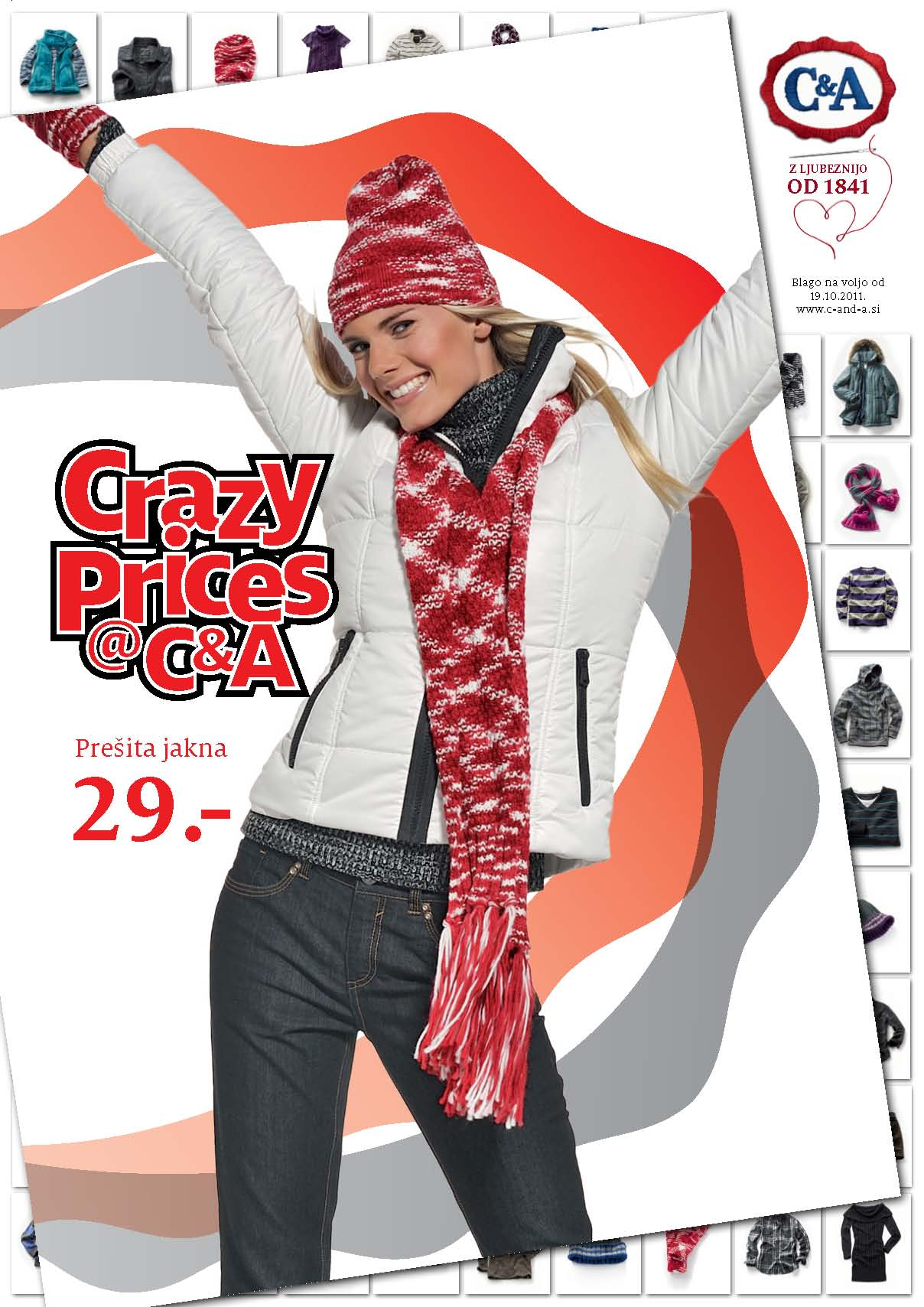 C&A - katalog Crazy prices
