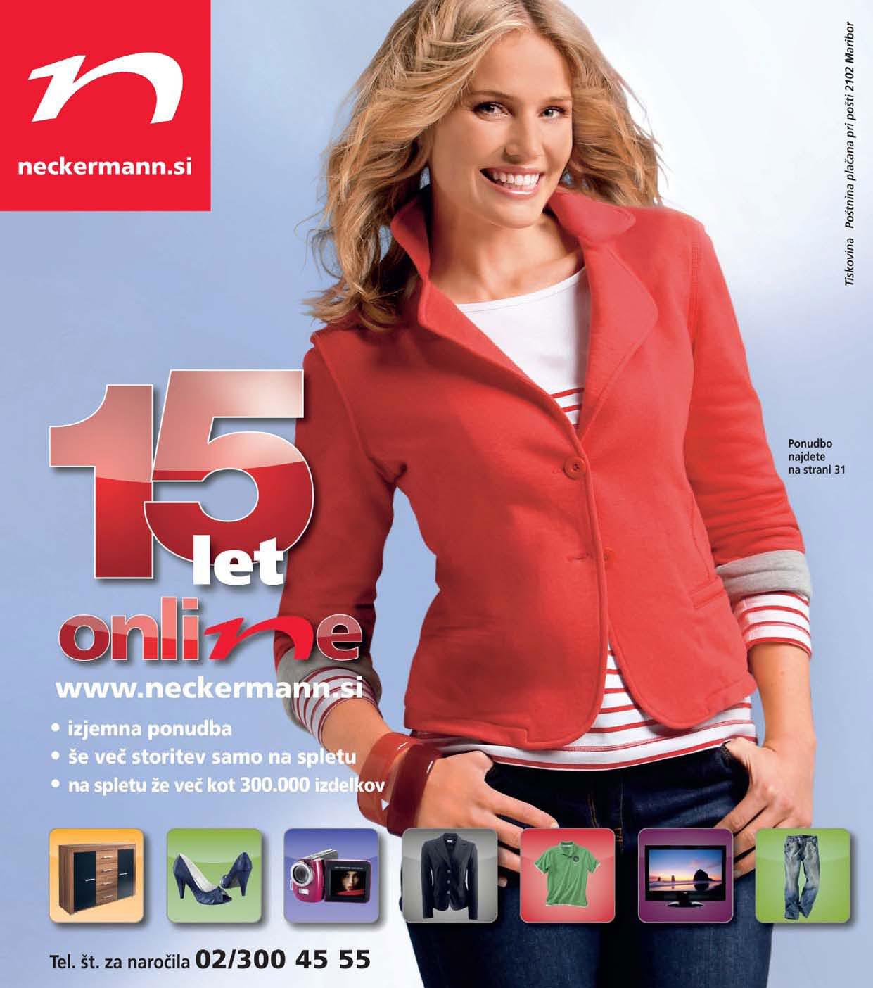 Neckermann - Glavni katalog Pomlad/poletje 2011
