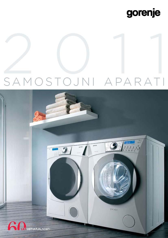 gorenje - Samostojni aparati 2011
