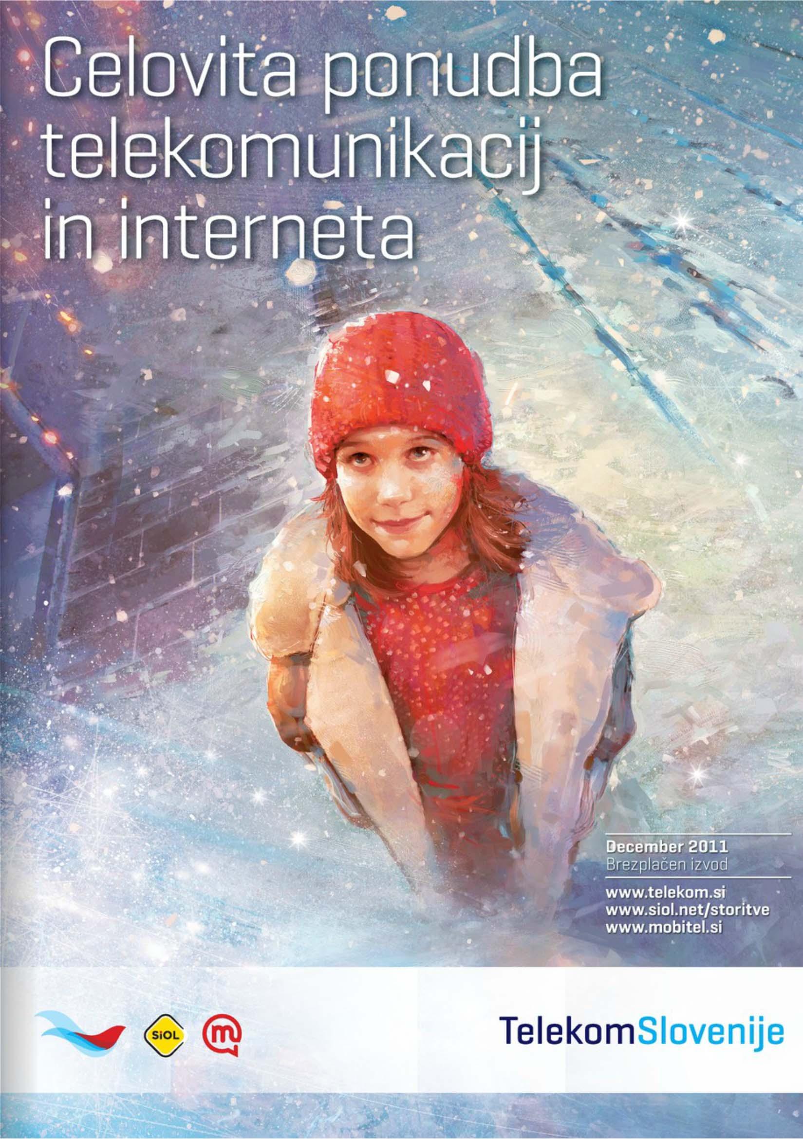 Telekom Slovenije - Prodajni katalog december 2011