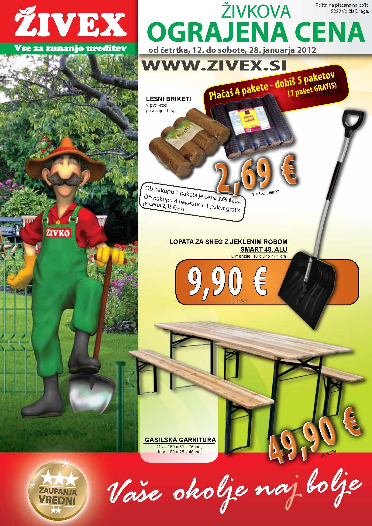 Živex - katalog Januar 2012