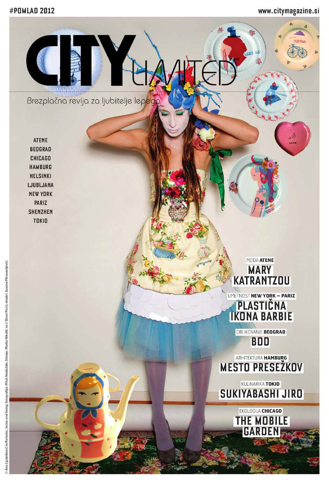 City Magazine - Pomlad 2012