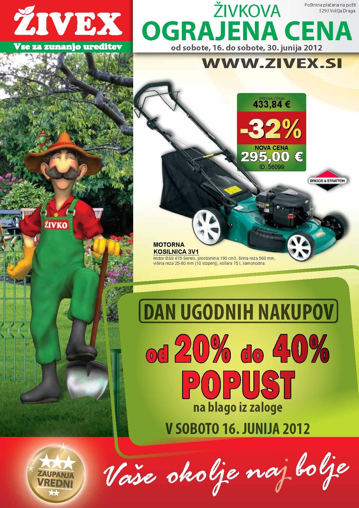 Živex - Katalog junij 2012