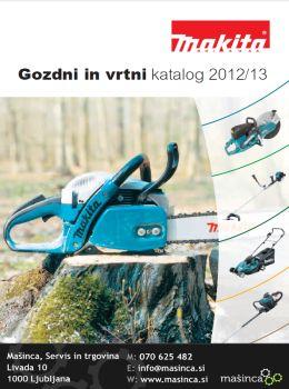 Mašinca katalog - Ponudba vrtnega in gozdnega orodja
