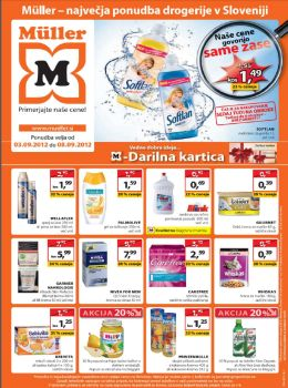 Müller katalog - Tedenska akcijska ponudba