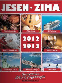 Sajko turistična agencija katalog - Jesenske in zimske počitnice