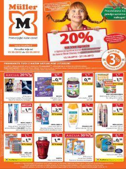 Müller katalog - Aktualna akcijska ponudba