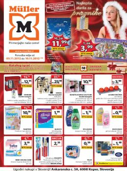 Müller katalog - Najlepša darila za praznike