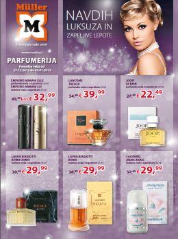 Müller katalog - Parfumerija