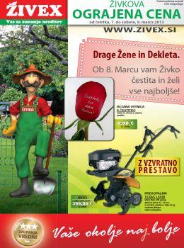 Živex katalog - Živkova ograjena cena