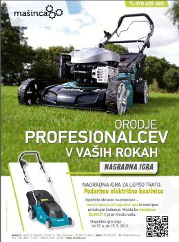 Mašinca katalog - Za profesionalce