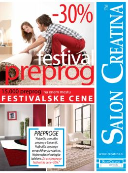 Salon Creatina katalog - Preproga v vsak dom