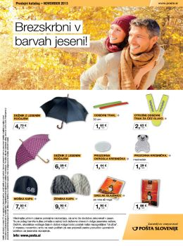 Pošta Slovenije katalog - Barve jeseni