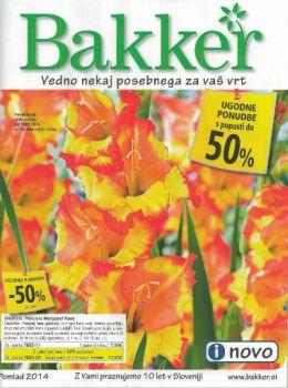 Bakker katalog - Popusti do -50 %