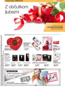 Pošta Slovenije katalog - Delite ljubezen!